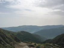 Landschaft in den Vosges und in Ballon d'Alsace Stockfotos