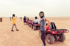 Landschaft der ägyptischen Wüste Lizenzfreie Stockfotos