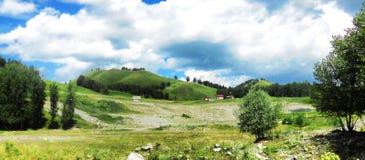 Landschaft der Altai-Berge Stockbilder