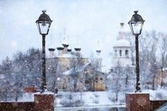 Landschaft in der alten Stadt Lizenzfreies Stockfoto