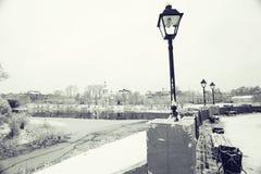 Landschaft in der alten Stadt Lizenzfreies Stockbild