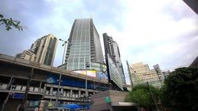 Landschaft der Bangkok-Stadttagesansicht HD 1920x1080 stock video