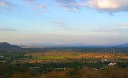 Landschaft der Felder Stockbild
