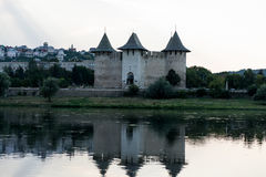 Landschaft der Festung stockfotografie