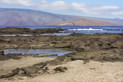 Landschaft der Galapagos-Inseln Lizenzfreie Stockfotos