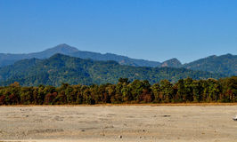 Landschaft der Hügel Stockbild