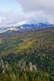 Landschaft in der Herbstzeit. lizenzfreies stockbild