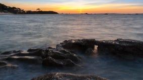 Landschaft der Insel von Arousa in Galizien lizenzfreie stockfotos