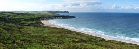 Landschaft der irischen Küste stockbild