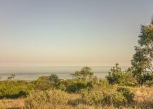 Landschaft in der Küste von Uruguay stockfotos