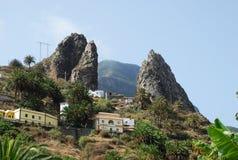 Landschaft in der Kanarischen Insel Stockbilder