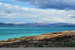 Landschaft der mittleren Erde Lizenzfreies Stockfoto