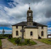 Landschaft der Neilston-Gemeinde-Kirche - Ost-Renfrewshire Lizenzfreies Stockbild