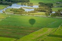 Landschaft der Niederlande Stockfotos