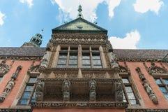 Landschaft der polnischen Architektur Stockfotos