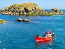 Landschaft der Sark-Insel, Guernsey, Kanal-Inseln stockfotos