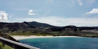 Landschaft der schönen Ansicht eines natürlichen Paradieses lizenzfreie stockfotos