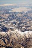 Landschaft der Schneeberge in Japan nahe Tokyo Lizenzfreies Stockfoto