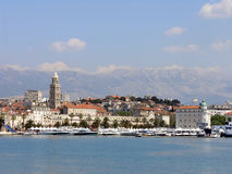 Landschaft der Spalte, Kroatien Stockfotografie