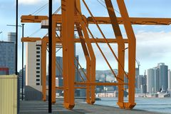 Landschaft der Stadt-3D Stockbilder
