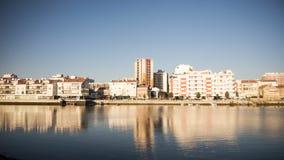 Landschaft der Stadt von Barreiro Stockfoto