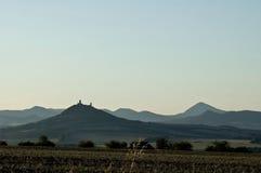 Landschaft der Tschechischen Republik Stockbild