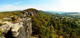 Landschaft in der Tschechischen Republik Stockbilder