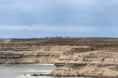 Landschaft in der Valdes-Halbinsel Lizenzfreies Stockbild