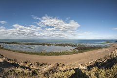 Landschaft in der Valdes-Halbinsel Lizenzfreie Stockfotos