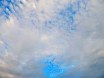 Landschaft des blauen Himmels Stockfoto