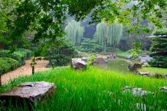 Landschaft des chinesischen Parks. Stockfotografie