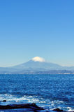 Landschaft des Enoshima Chigogafuti. Stockbild