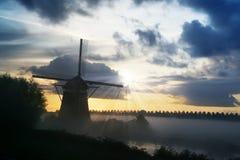 Landschaft des frühen Morgens Lizenzfreie Stockbilder