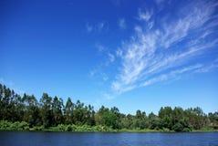 Landschaft des Friedens und der Ruhe stockbilder