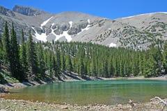 Landschaft des großes Bassin-Nationalparks lizenzfreie stockfotos