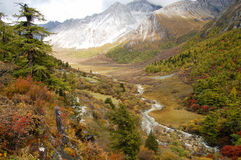 Landschaft des Herbstes Lizenzfreie Stockbilder