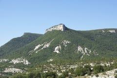 Landschaft des hohen Berges Stockbild