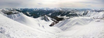 Landschaft des Kaukasiers Lizenzfreies Stockbild