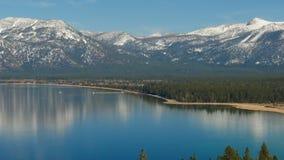 Landschaft des Lake Tahoe stock footage
