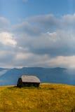 Landschaft des Landes in der Siebenbürgen-Region Lizenzfreie Stockfotos