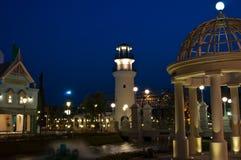 Landschaft des Leuchtturmes Lizenzfreies Stockfoto