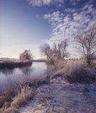 Landschaft des Morgens Lizenzfreies Stockfoto