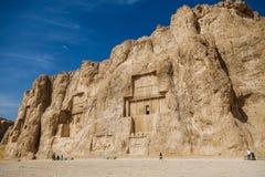 Landschaft des Naqsh-e Rustam lizenzfreie stockbilder