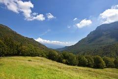 Landschaft des Nationalpark Altes Garda Lizenzfreies Stockbild