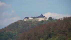 Landschaft des Naturschutzgebiets der deutschen Stadt nannte Hallenberg stock video