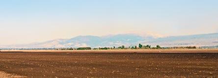 Landschaft des oberen Galiläas. Israel. Lizenzfreies Stockbild