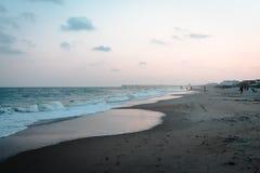 Landschaft des Ozean-Insel-Strandes Lizenzfreies Stockbild