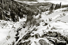 Landschaft des Riesen Stockfotos