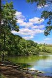 Landschaft des Sees Stockfoto
