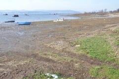 Landschaft des Sees Stockfotografie